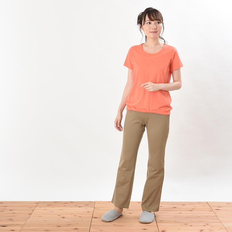 モーハウスの授乳服リラクシングウェア ボトムモデル写真1