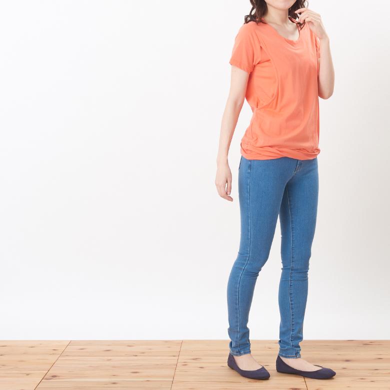 授乳服CARINO-DT ツイストモデル写真2