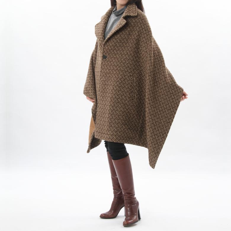 モーハウスのショール型ママコート衿ショール・JQモデル写真1
