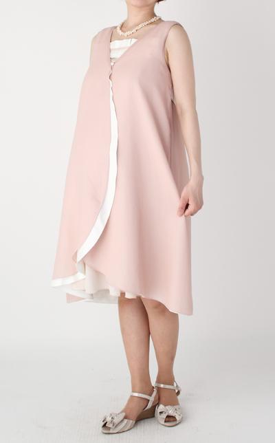 モーハウスのフォーマル授乳服REVE(レーブ)コーデ写真1