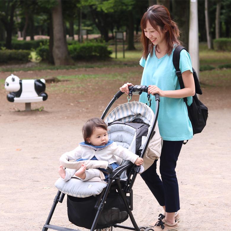 授乳服オーガニックシンプルTモデル写真2