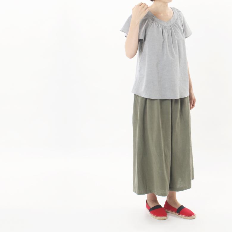 モーハウスの授乳服さらさらオーガニックモデル写真2