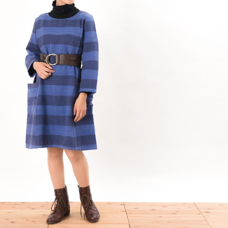 モーハウスの授乳服ララ(ワンピース)モデル写真2