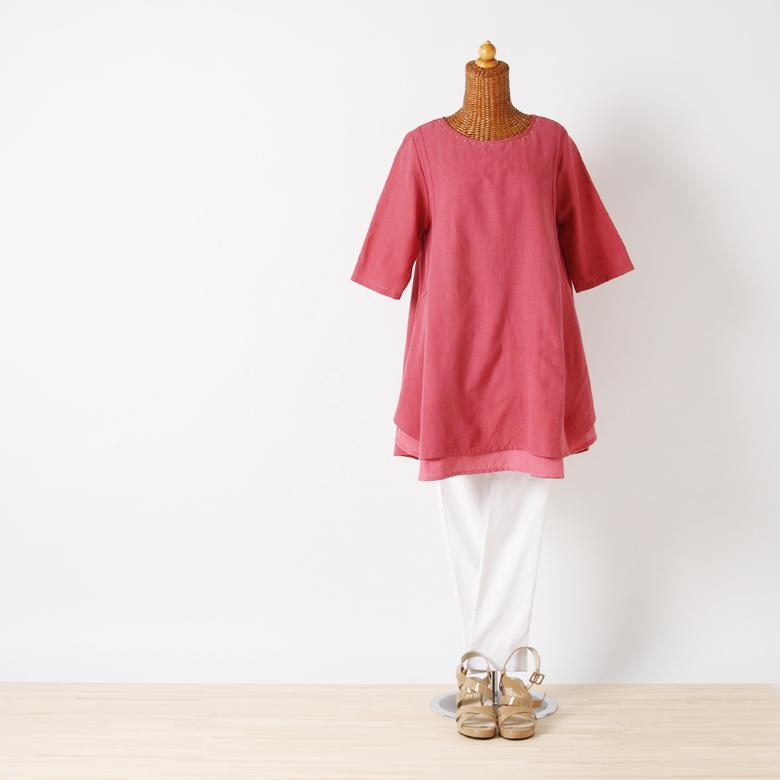モーハウスの授乳服カティ・ラムリモデル写真1