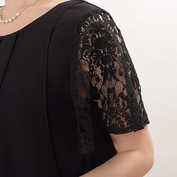 モーハウスのフォーマル授乳服のディティールポイント3