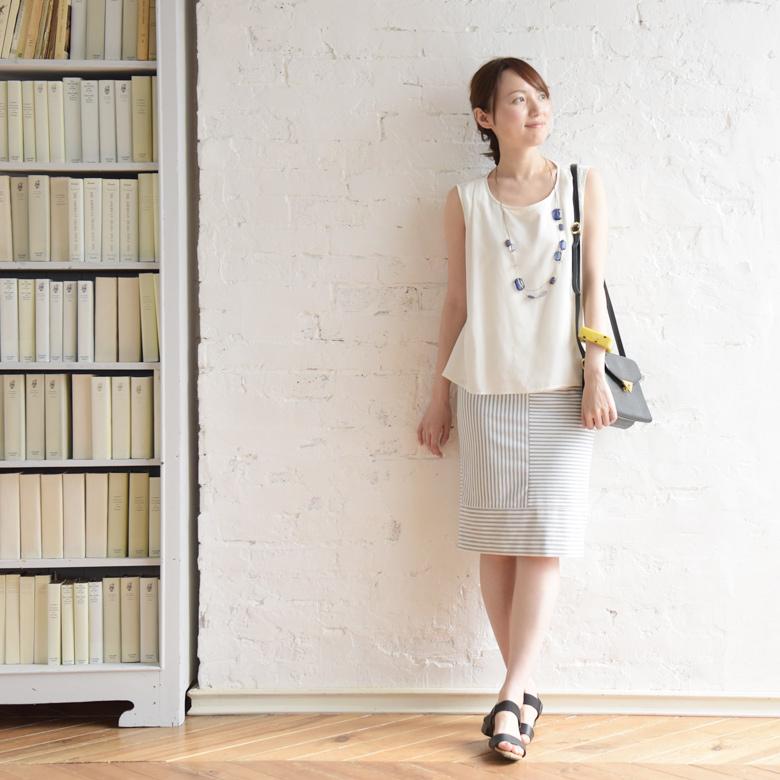 モーハウスの授乳服リッキーモデル写真1