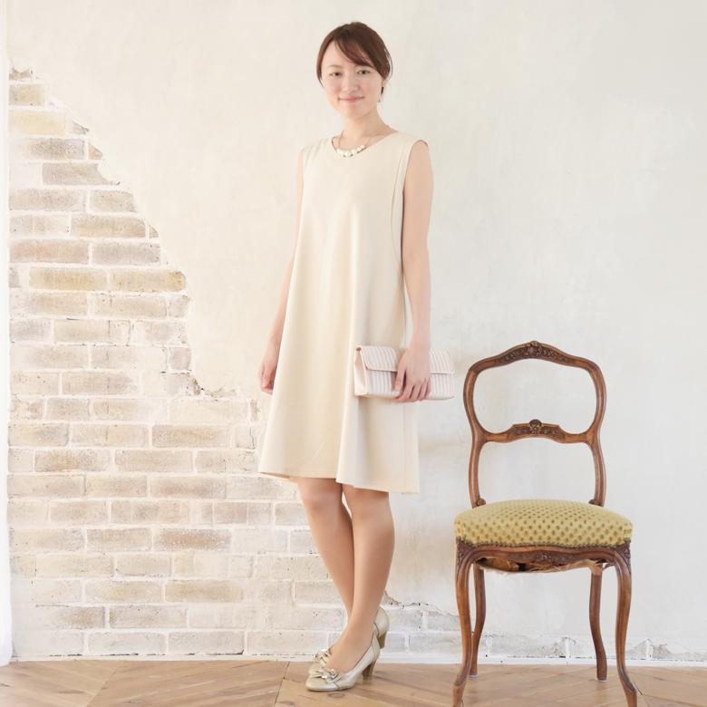モーハウスのフォーマル授乳服エクラモデル写真1