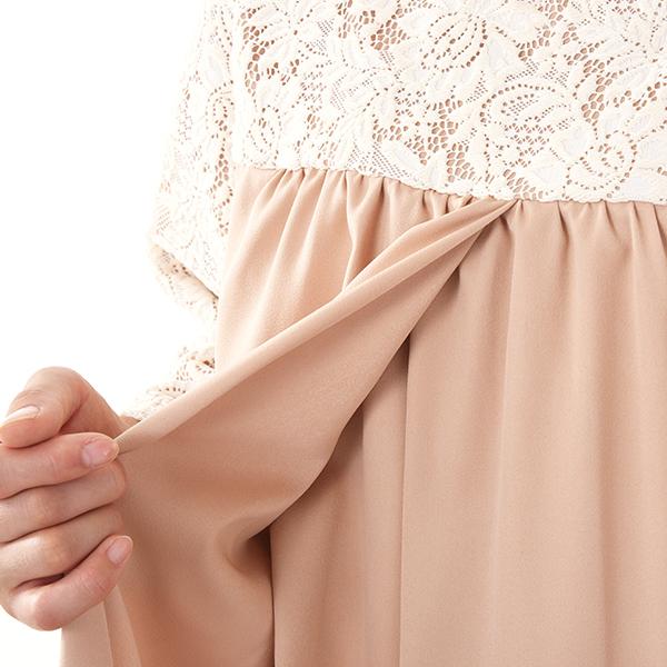 モーハウスのフォーマル授乳服のディティールポイント5