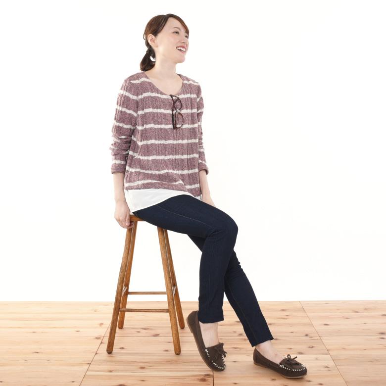授乳服メリダモデル写真1