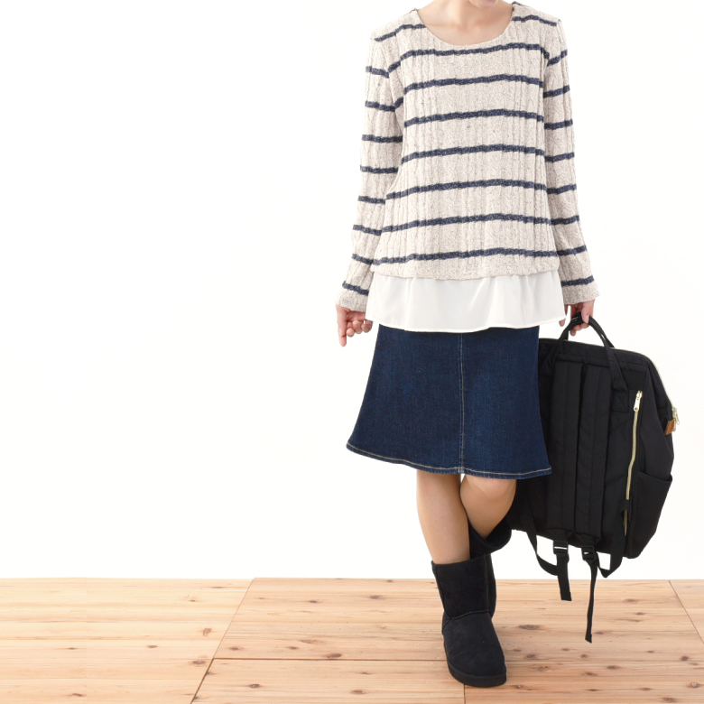 授乳服メリダモデル写真2