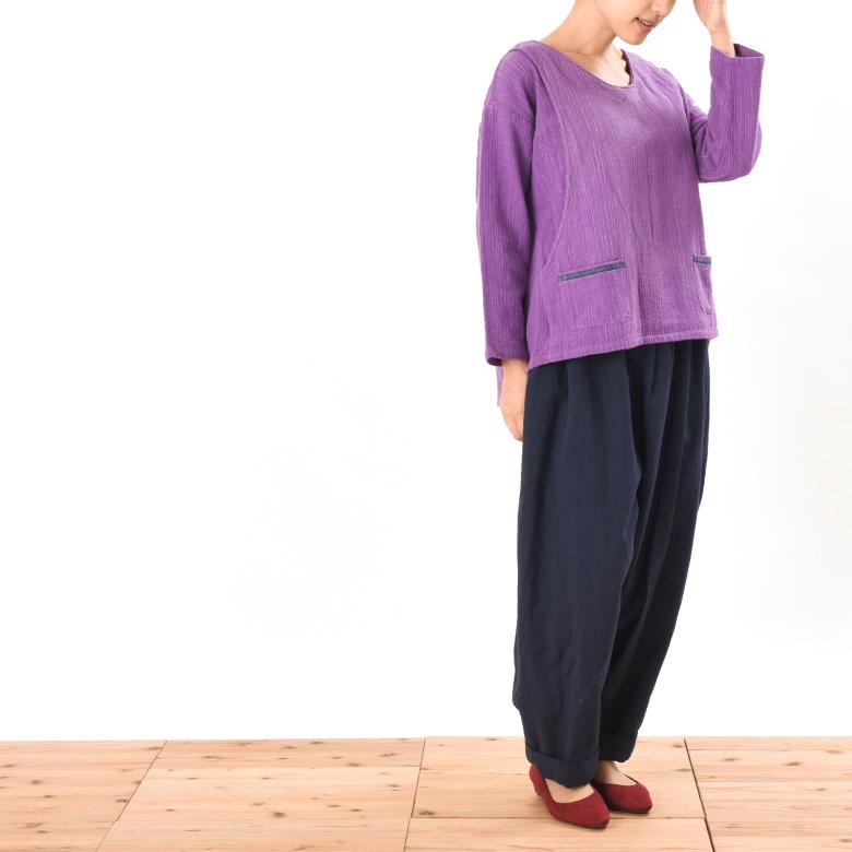 モーハウスの授乳服jaaaun(ザウン)モデル写真2