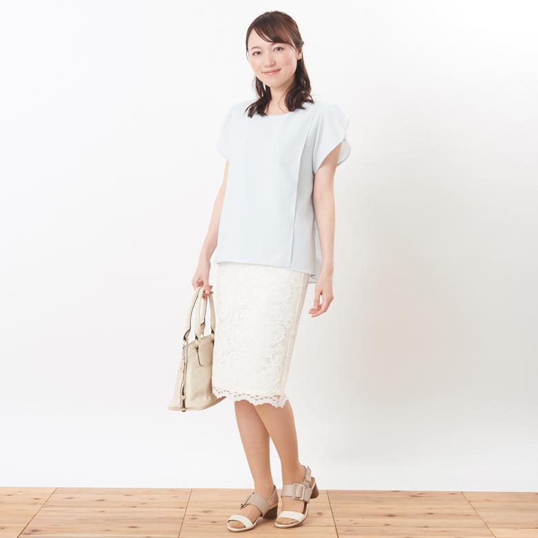授乳服シャルムモデル写真1