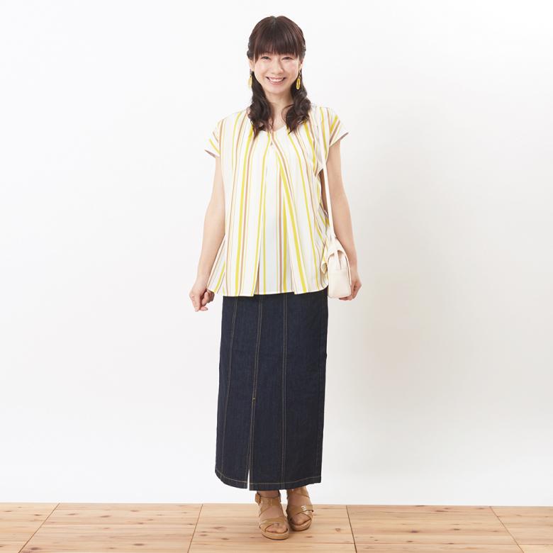 モーハウスの授乳服Snappy(スナッピィ)モデル写真1