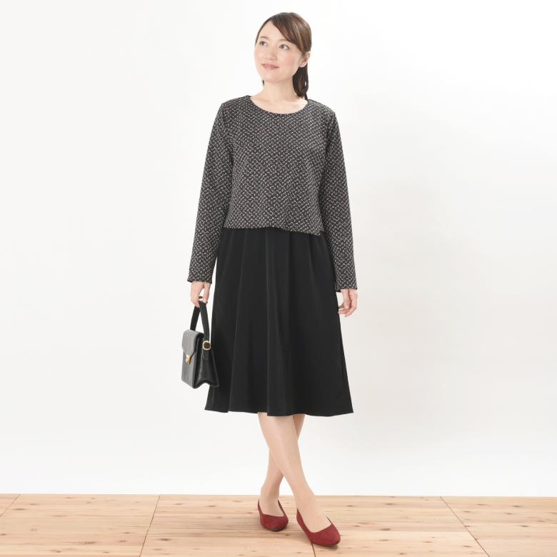 授乳服ARALE(あられ)モデル写真1
