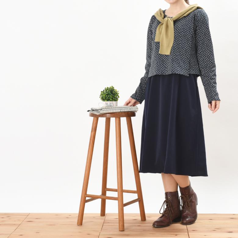 授乳服ARALE(あられ)モデル写真2