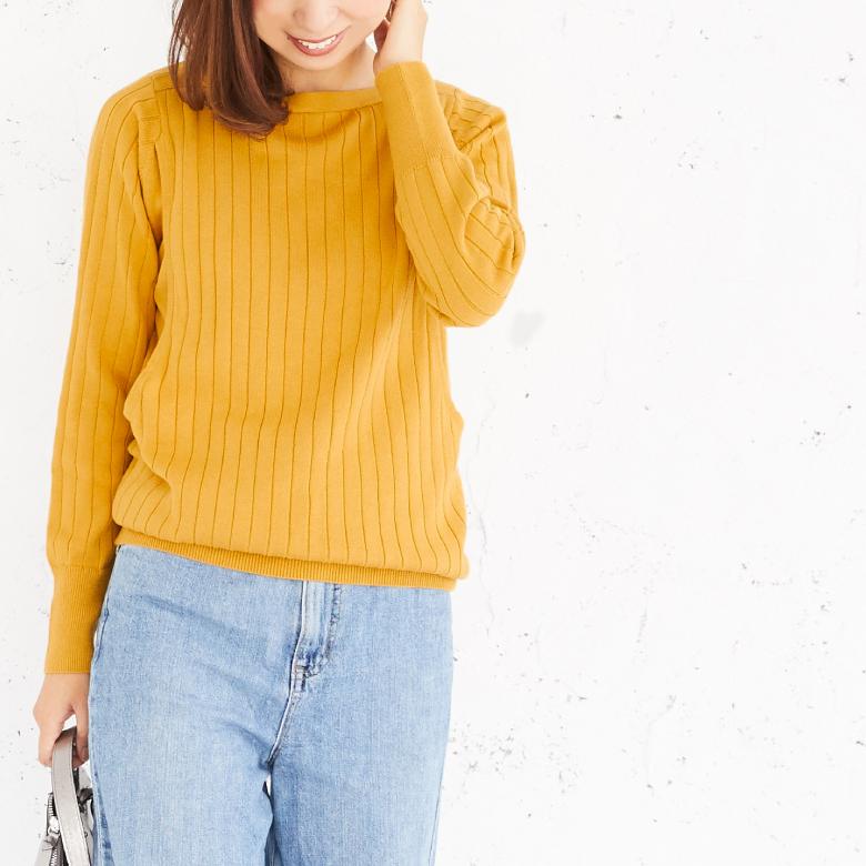 授乳服コローレニットモデル写真2