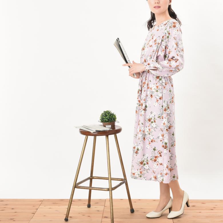 モーハウスの授乳服パルテールモデル写真2秋冬