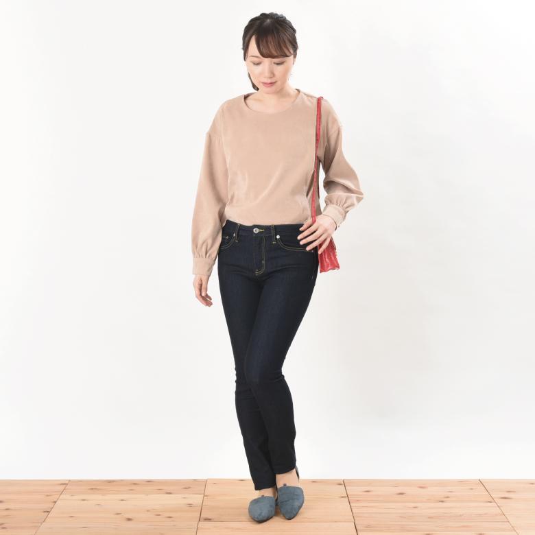 授乳服テラコッタモデル写真1