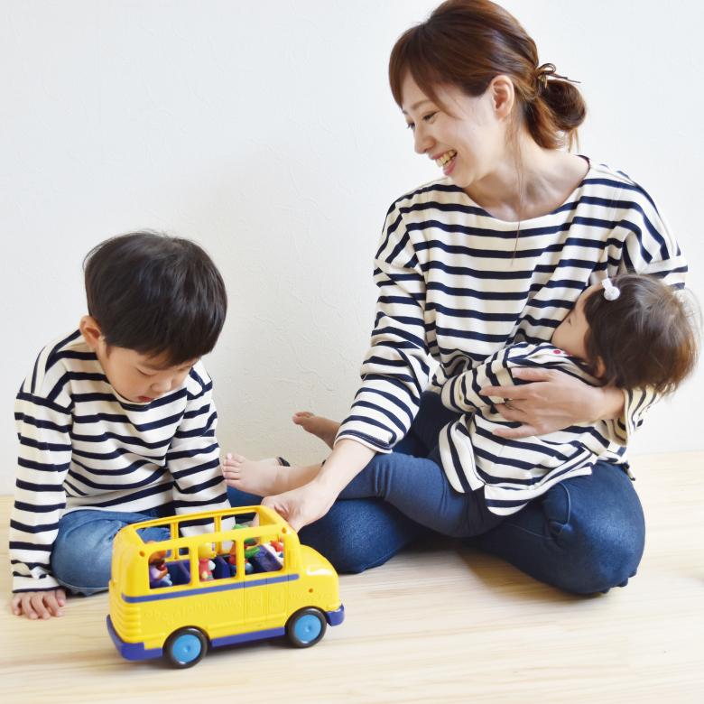 親子リンクコーデアイテムバスクシャツ・ミニモデル写真2