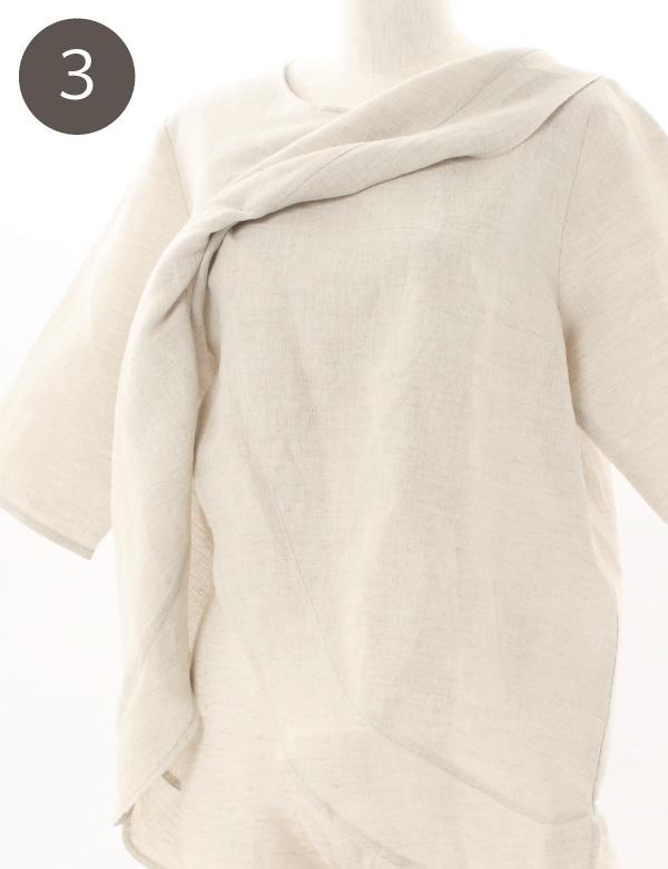 授乳服の授乳口の使い方3