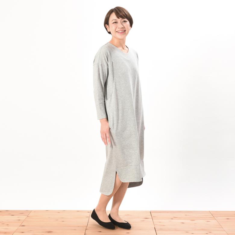 授乳服デイリーワンピモデル写真1