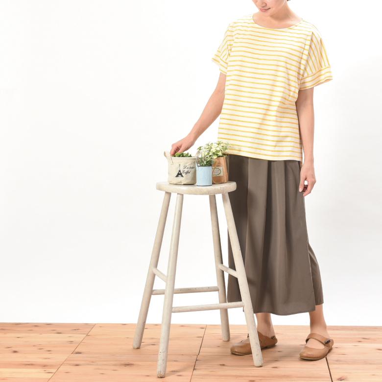 授乳服マーカーボーダーTモデル写真2