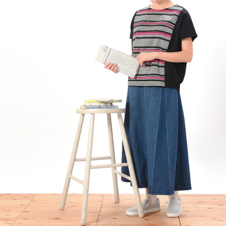 モーハウスの授乳服リバーシャロンモデル写真2