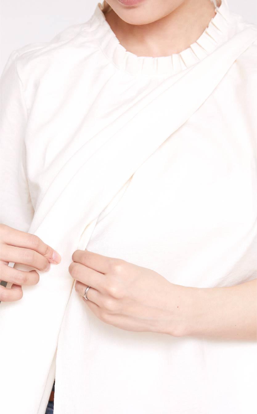 授乳服授乳口画像