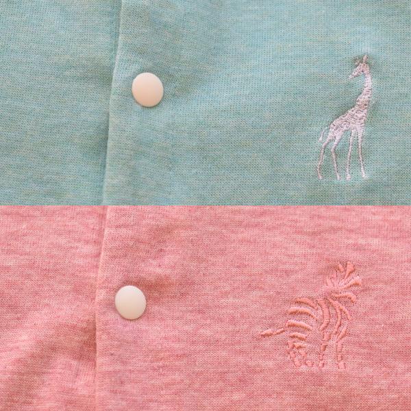 授乳服のディティールポイント1