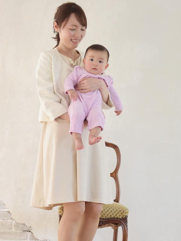 フォーマル 授乳服 エクラコーデ写真2