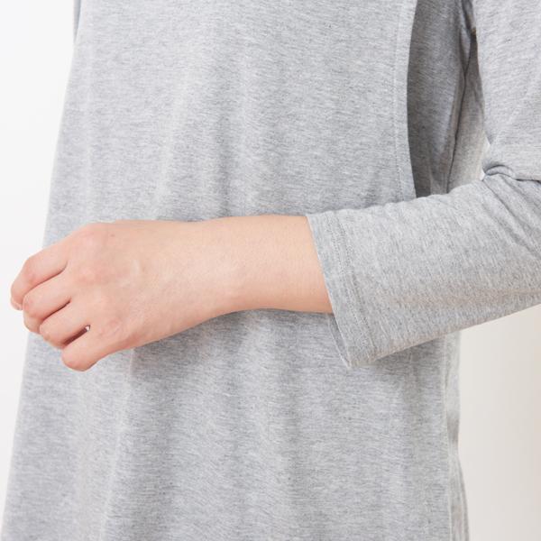 授乳服ディテールポイント1:ジャストフィットな袖