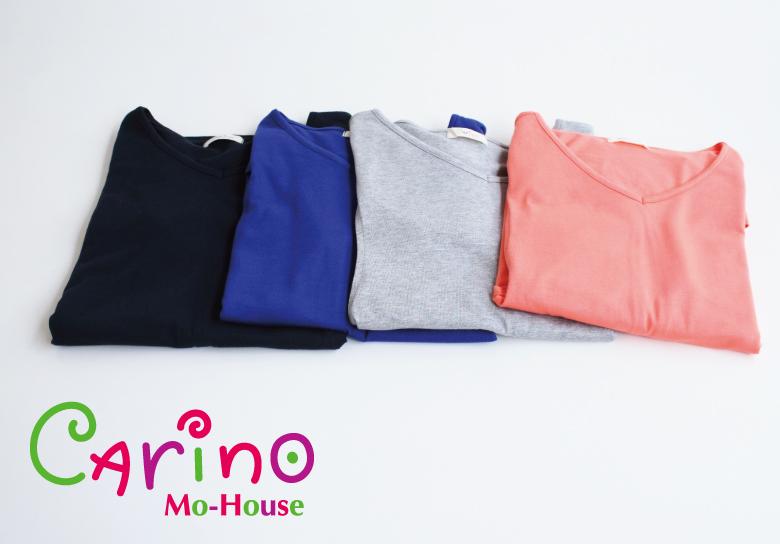 授乳服CARINO-DT チュニックショートスリーブイメージ写真2