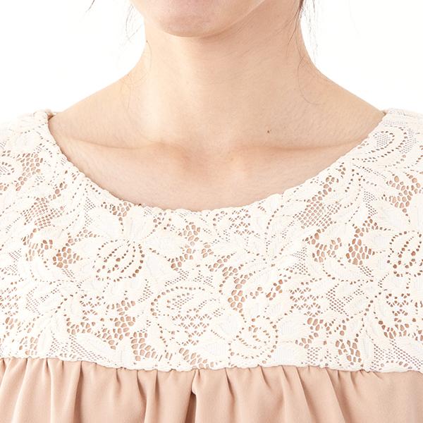 モーハウスのフォーマル授乳服のディテールポイント1