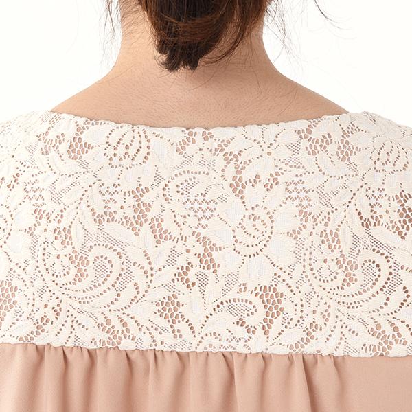 モーハウスのフォーマル授乳服のディテールポイント2