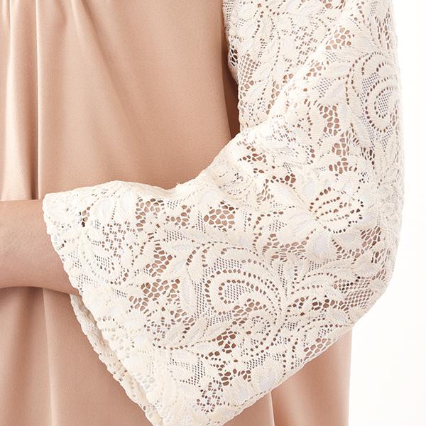モーハウスのフォーマル授乳服のディテールポイント3