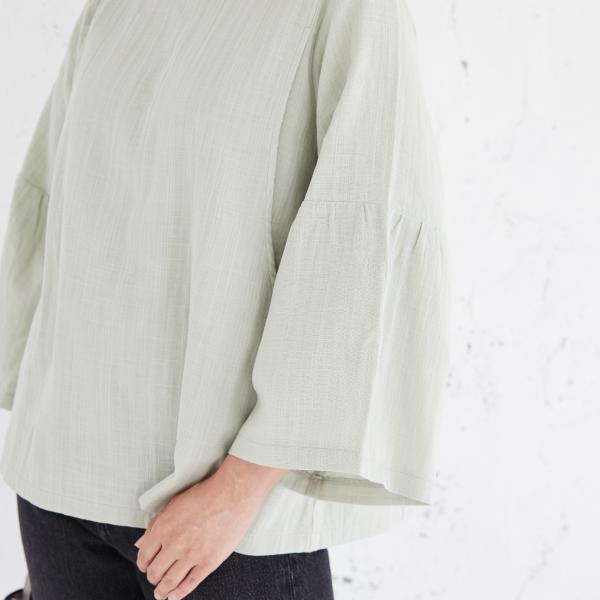 授乳服ディテールポイント:おしゃれな袖
