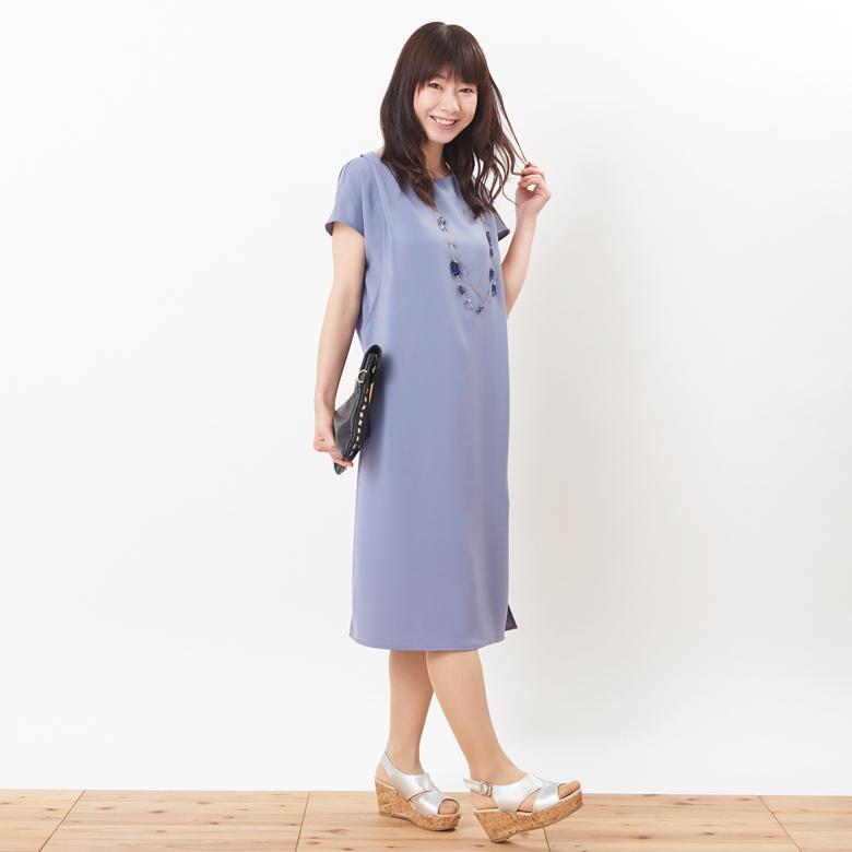 授乳服フォンデュ モデル身長:160cm