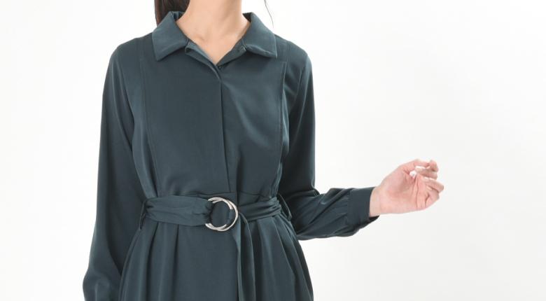 授乳服リブレモデル写真2