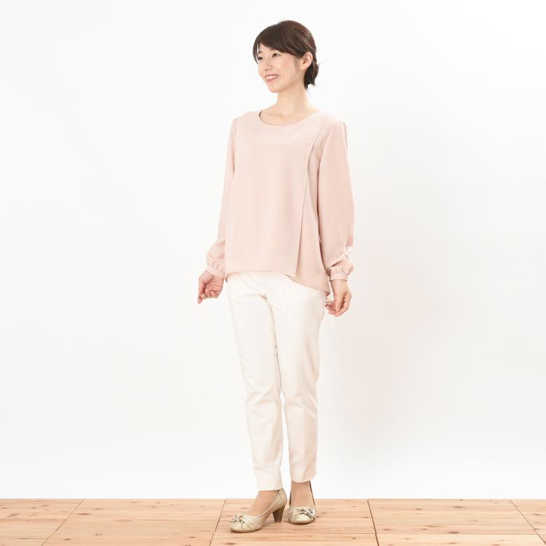 授乳服ピュアミール モデル身長:160cm