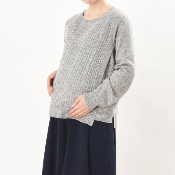 授乳服ディテールポイント:マタニティ兼用授乳服