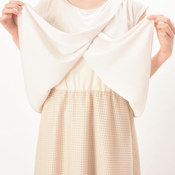 授乳服ディテールポイント2