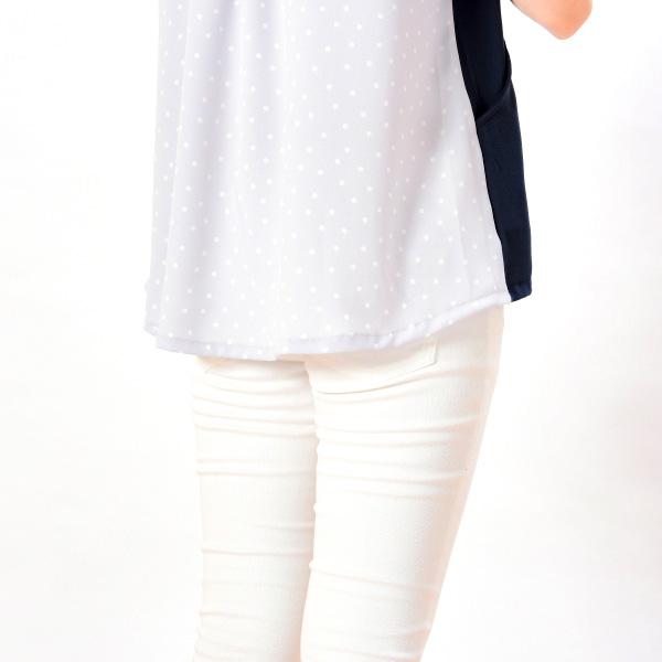 モーハウスの授乳服のディテールポイント:裾まわり