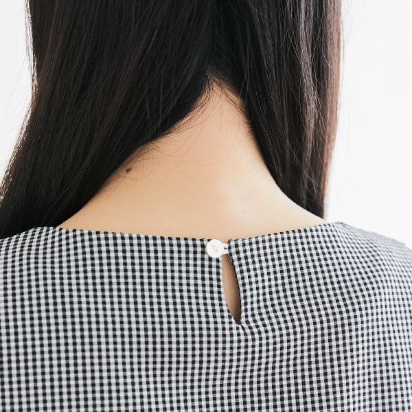 授乳服のディテールポイント1