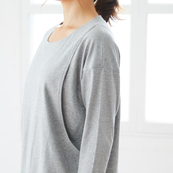 授乳服のディテールポイント3
