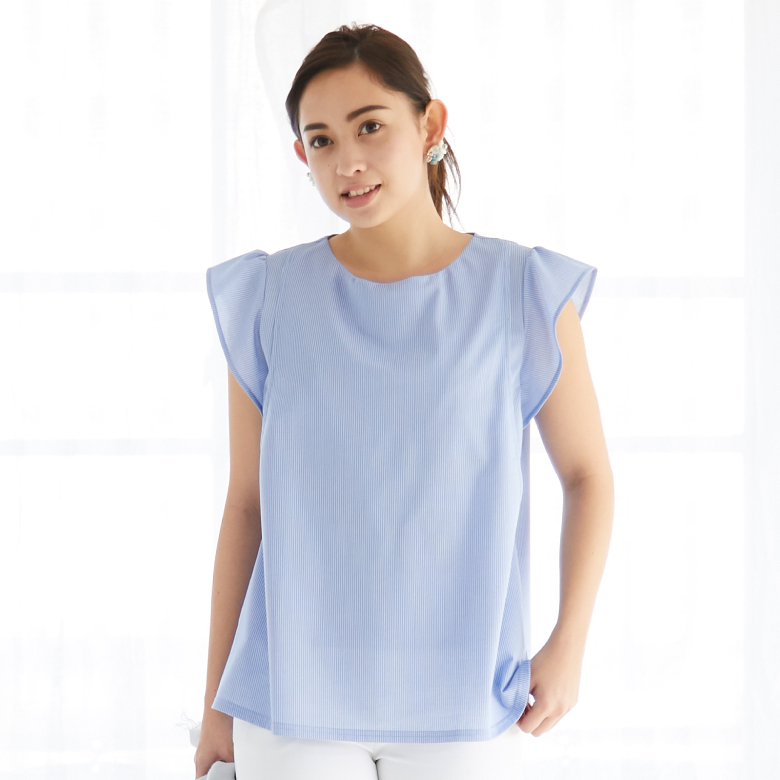 モーハウスの授乳服シェリ フレンチスリーブモデル写真1