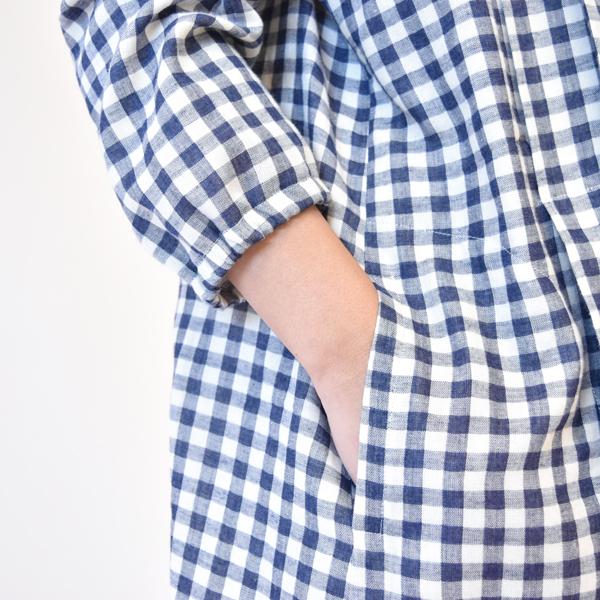 モーハウスの授乳服のディテールポイント2