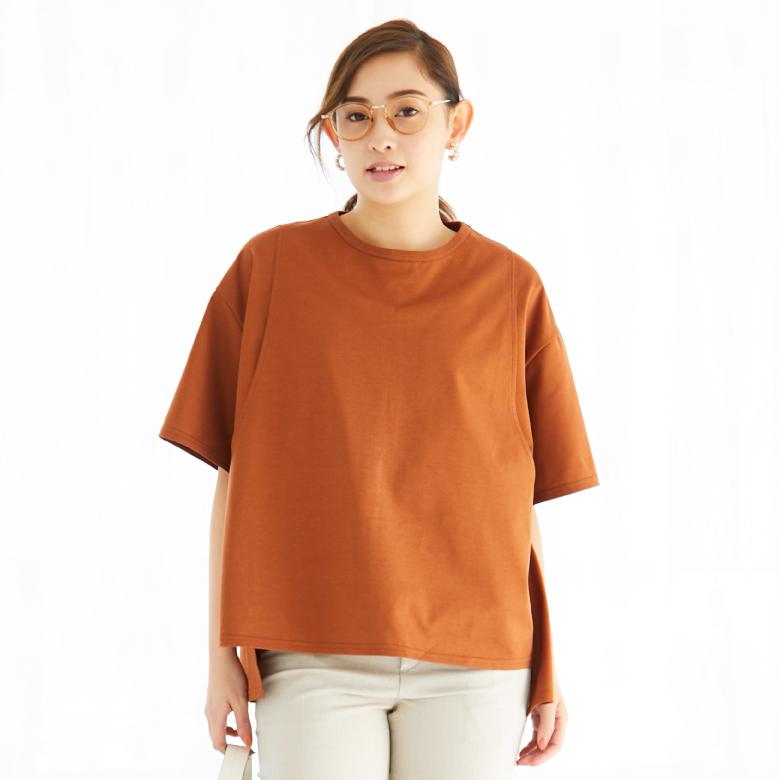 モーハウスの授乳服ビッグシルエットTモデル写真1