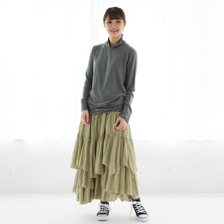 モーハウスの授乳服タートルウォームロンTモデル写真1