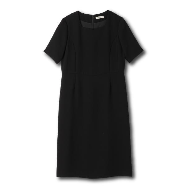 フォーマル 授乳服 ブラックフォーマルドレス