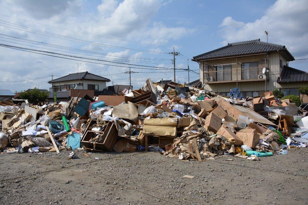 茨城県境町台風18号被害